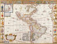 Severní a Jižní Amerika – 1626