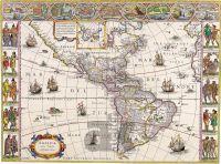 Severní a Jižní Amerika – Giuljelmo Blauew