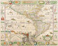 Severní a Jižní Amerika – Nicolaum Visscher 1652